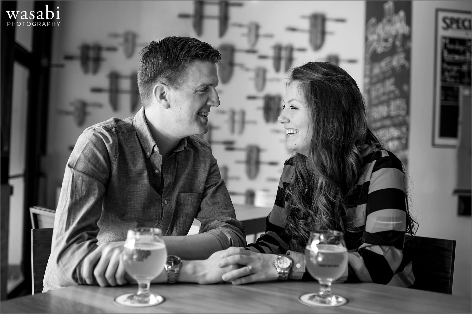 01 Chicago brewery engagement session dryhop bar