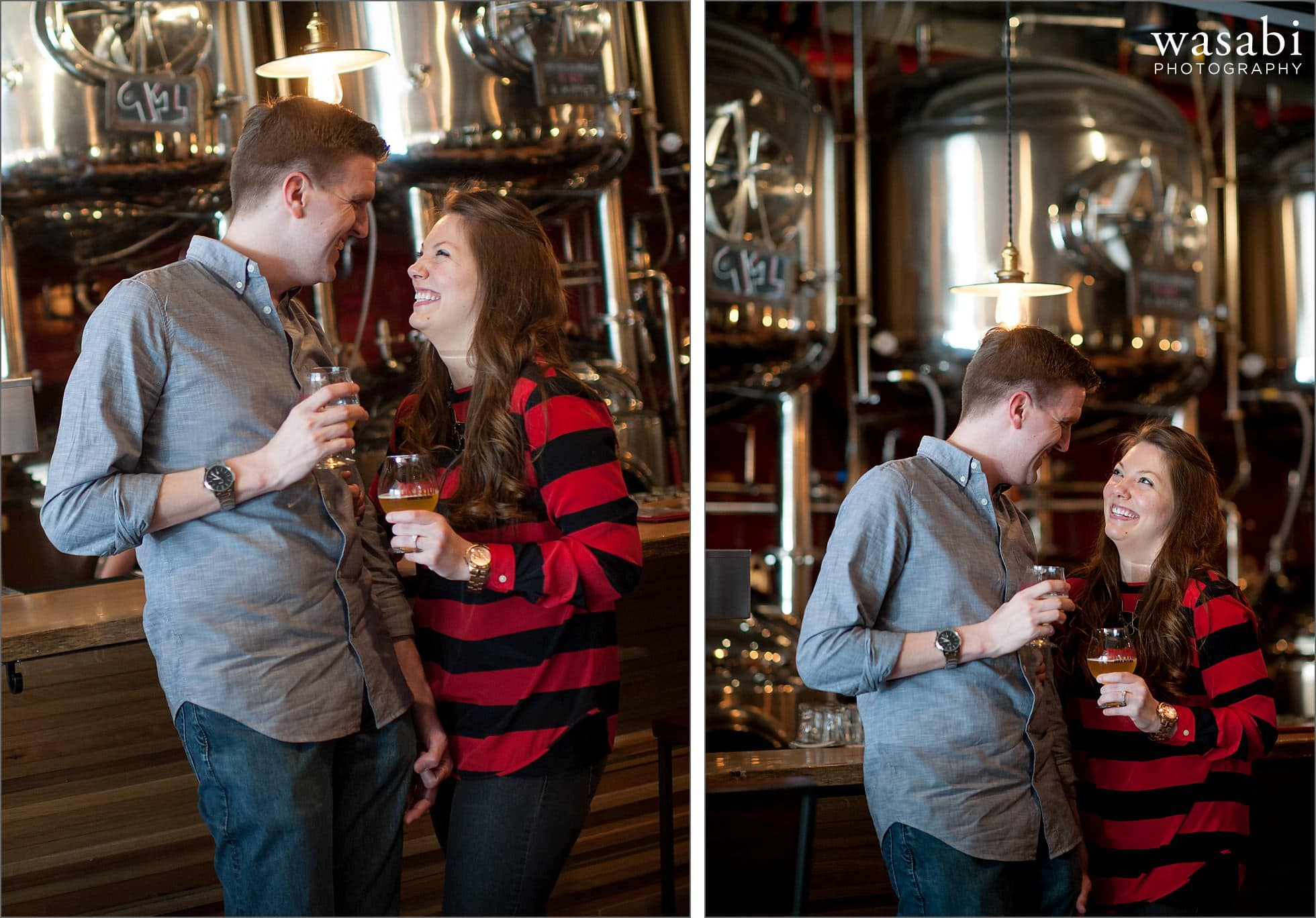 02 Chicago brewery engagement session dryhop bar