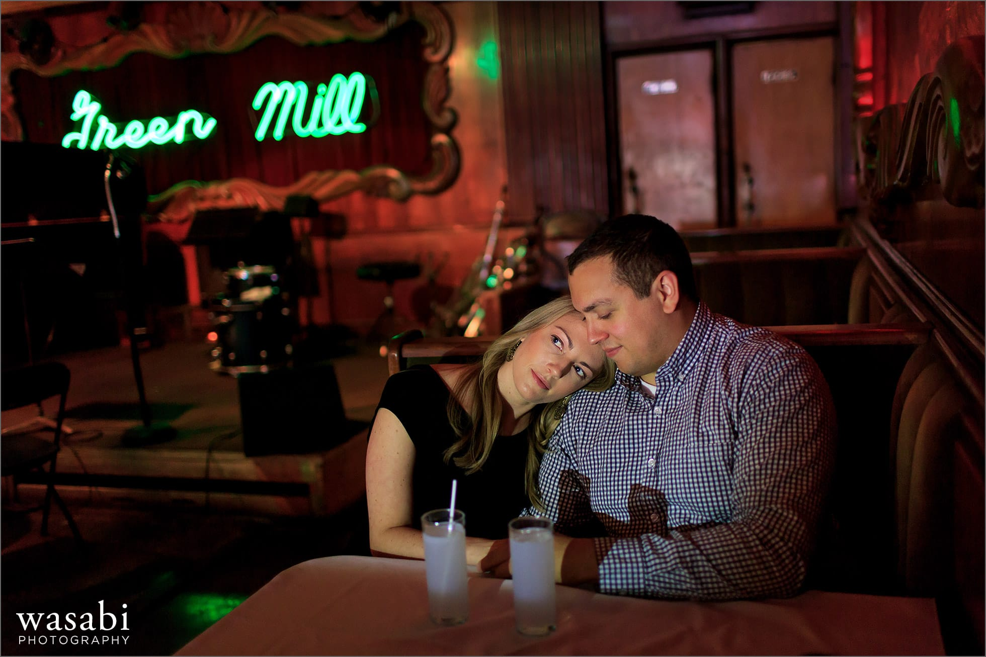 Green Mill Engagement Photos