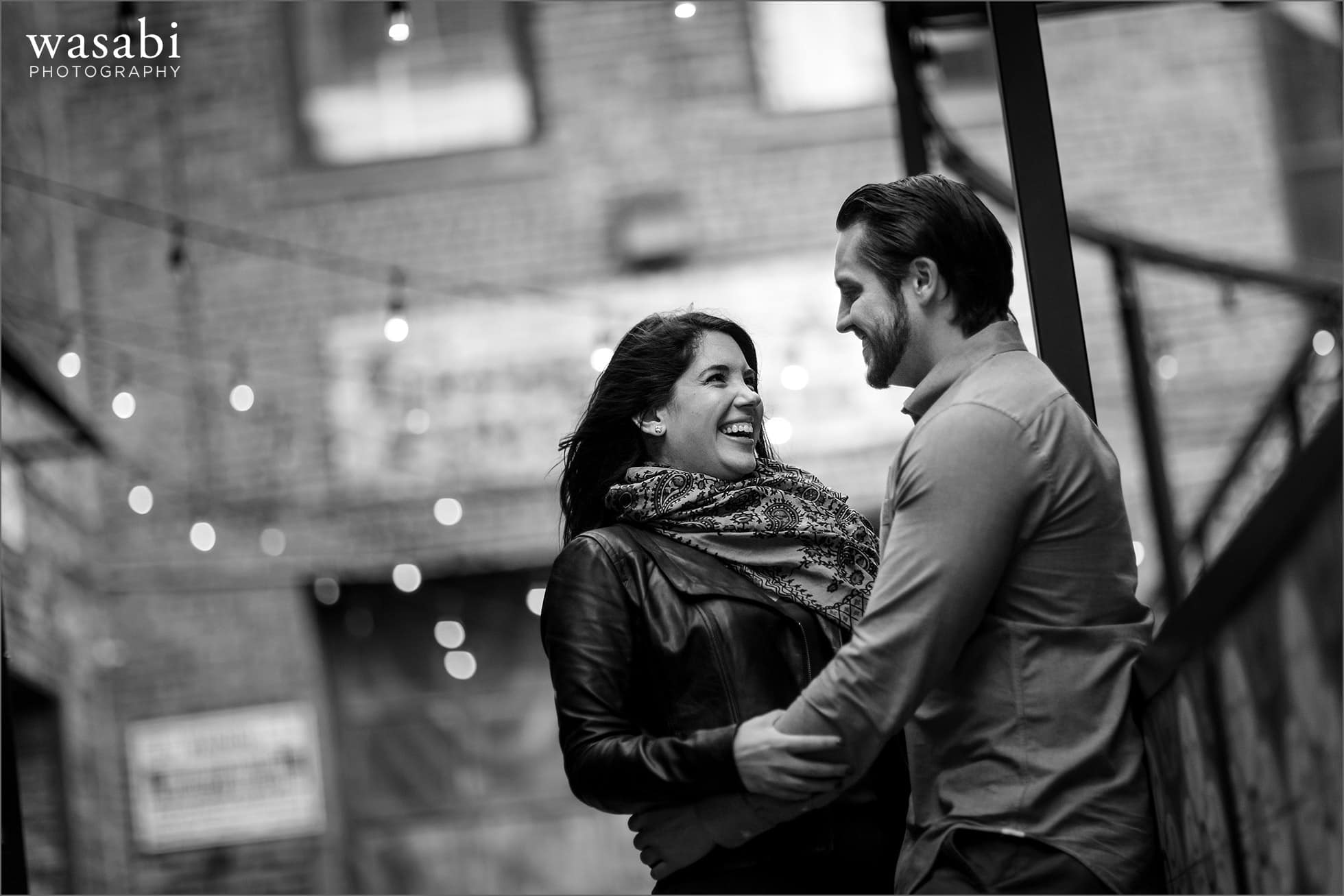 West Loop Engagement Photos