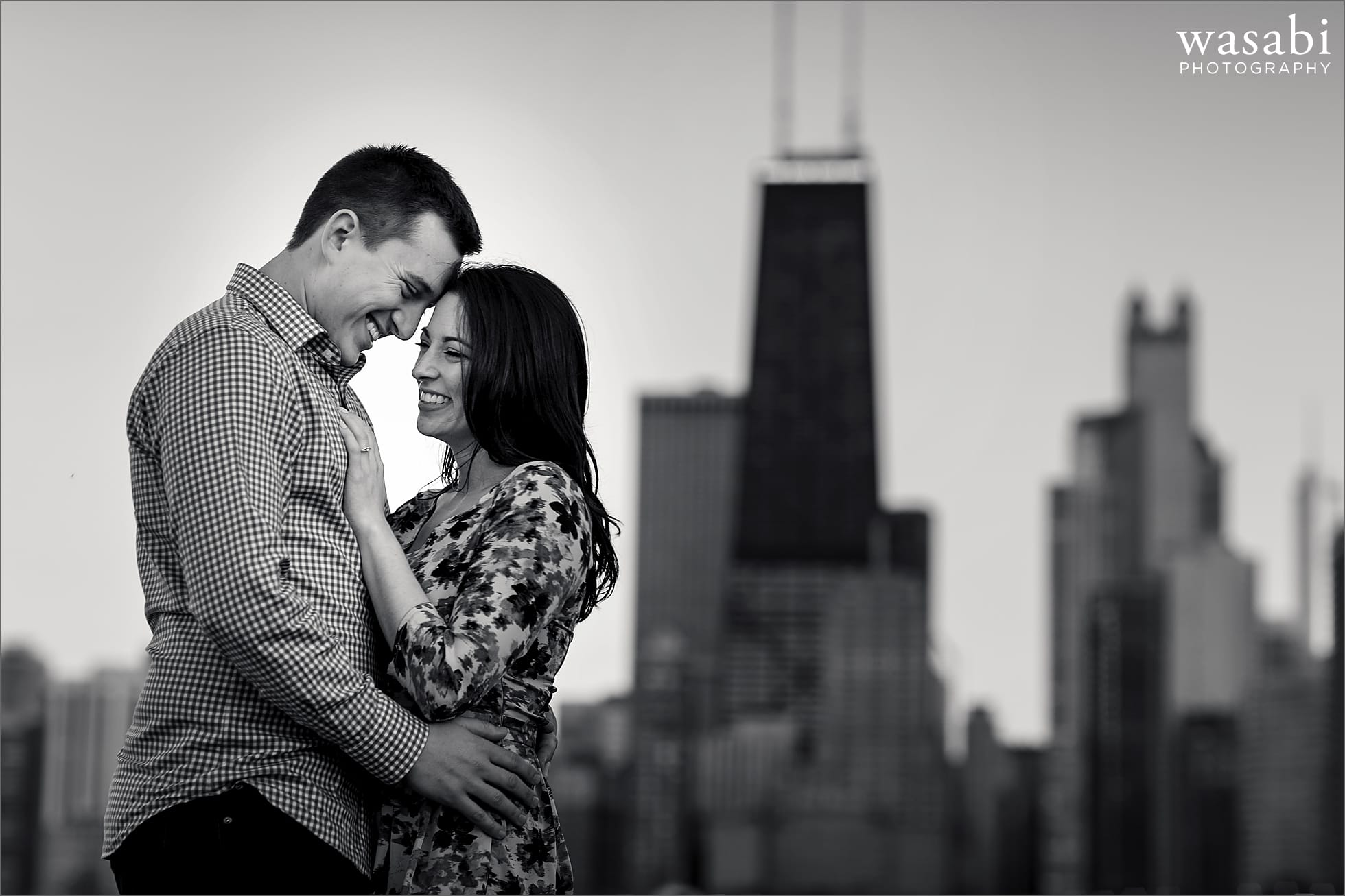 North Avenue Beach Engagement Photos