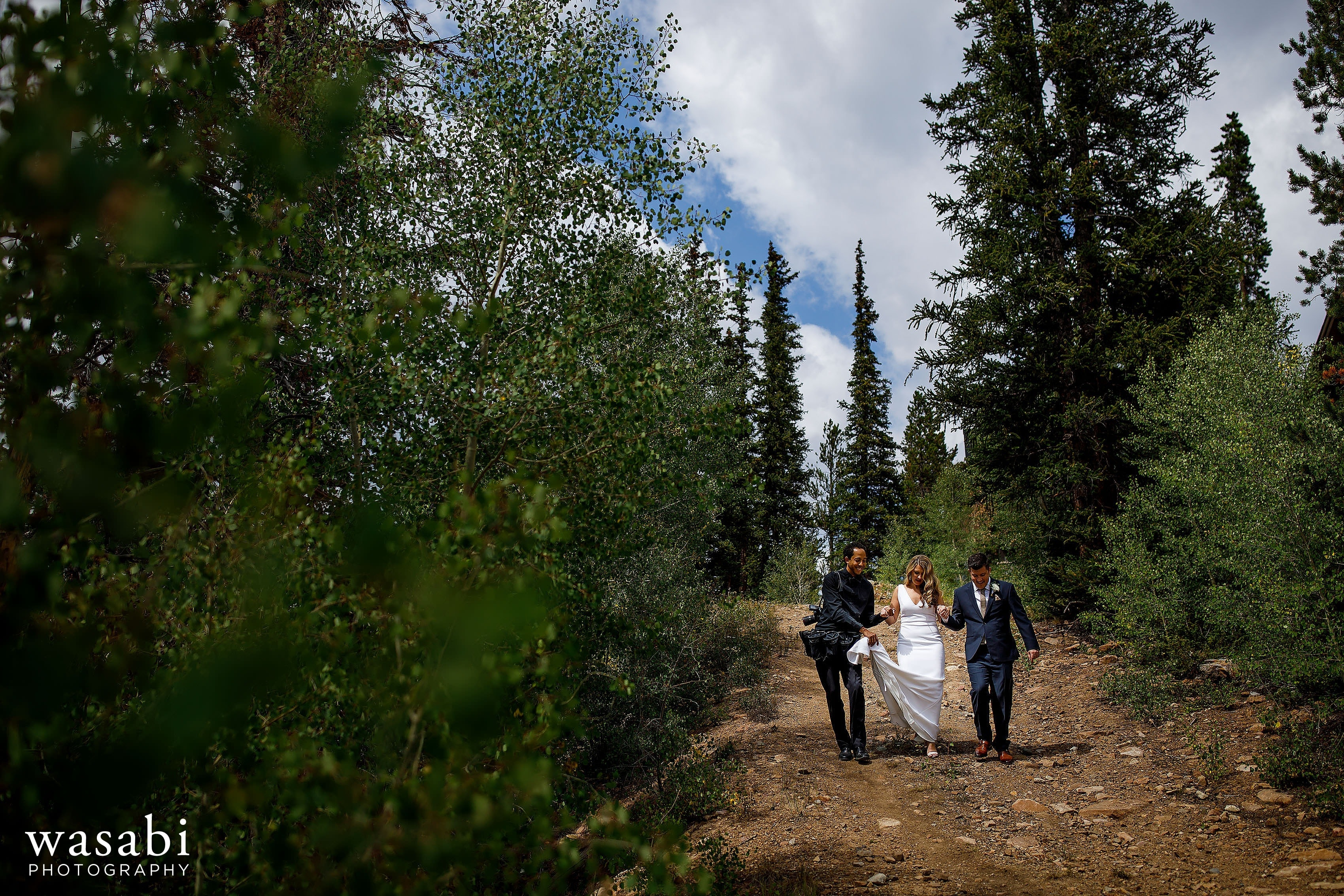 A Behind the Scenes look back at Wasabi Photography's 2018 wedding with photos of our team going above and beyond to make the best images for our couples!