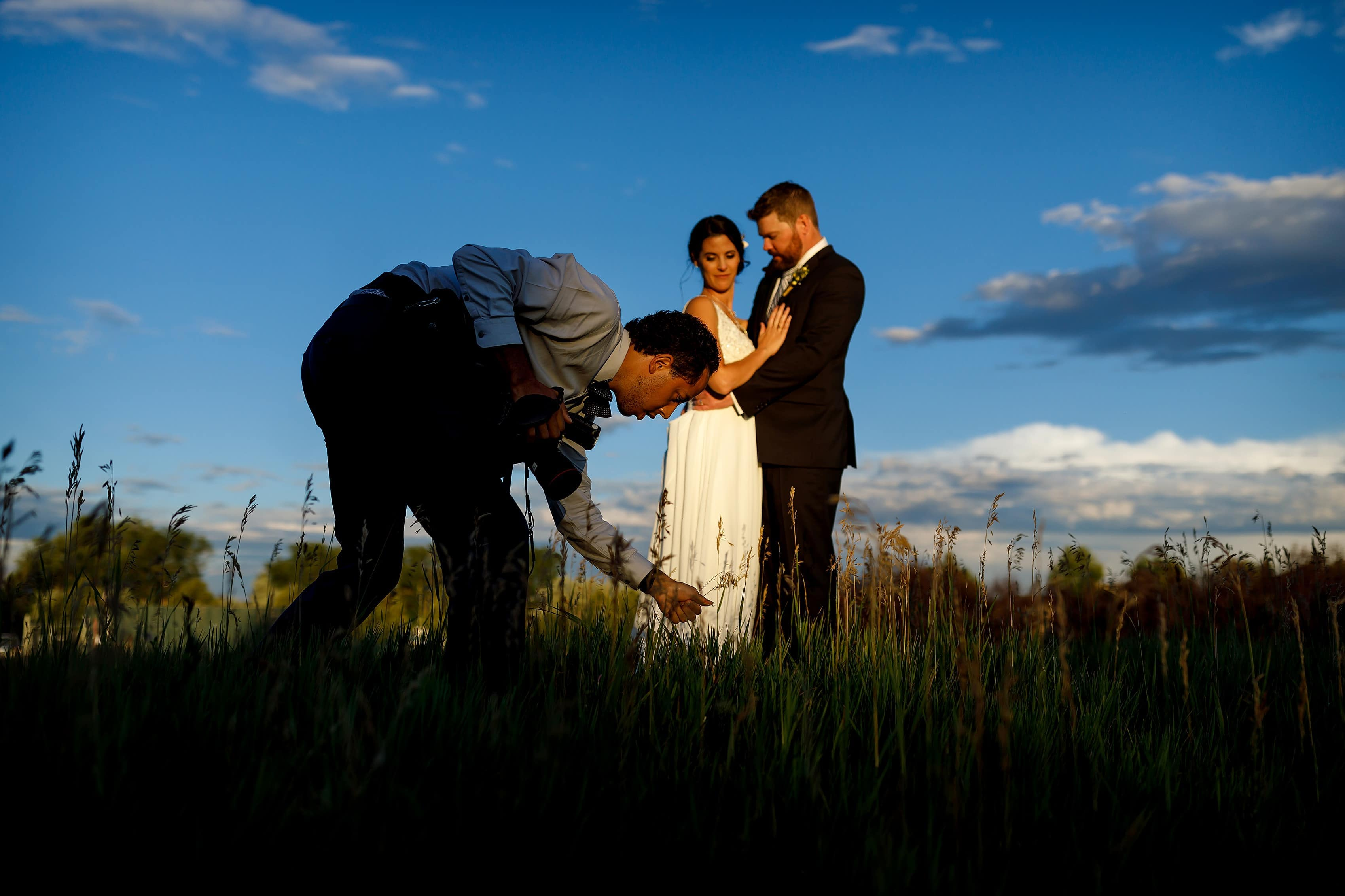 A Behind the Scenes look back at Wasabi Photography's 2019 wedding with photos of our team going above and beyond to make the best images for our couples!