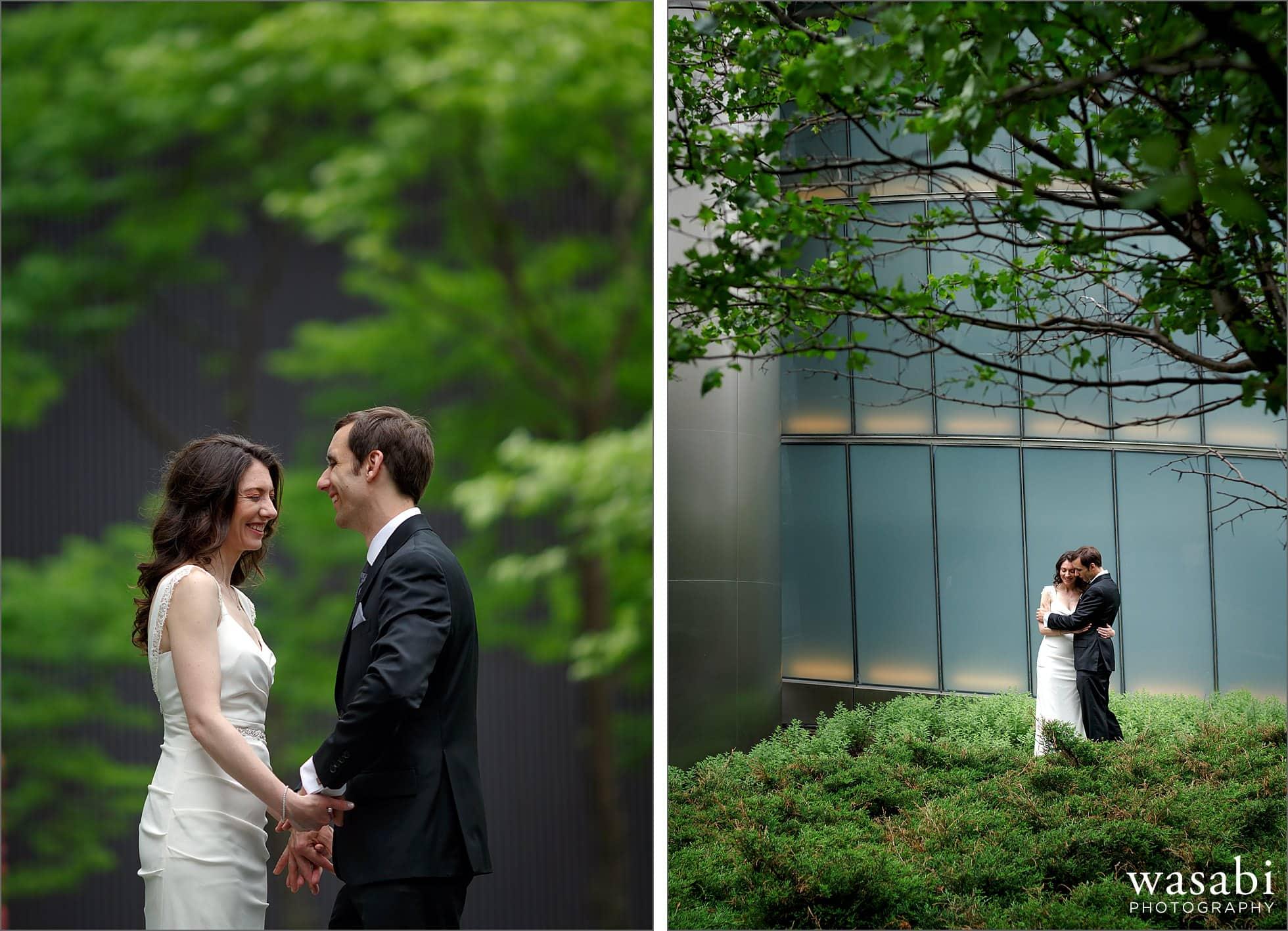 trump tower wedding photos