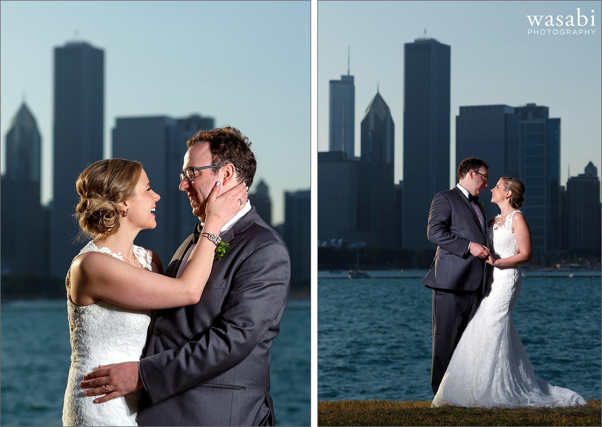 adler planetarium wedding portraits