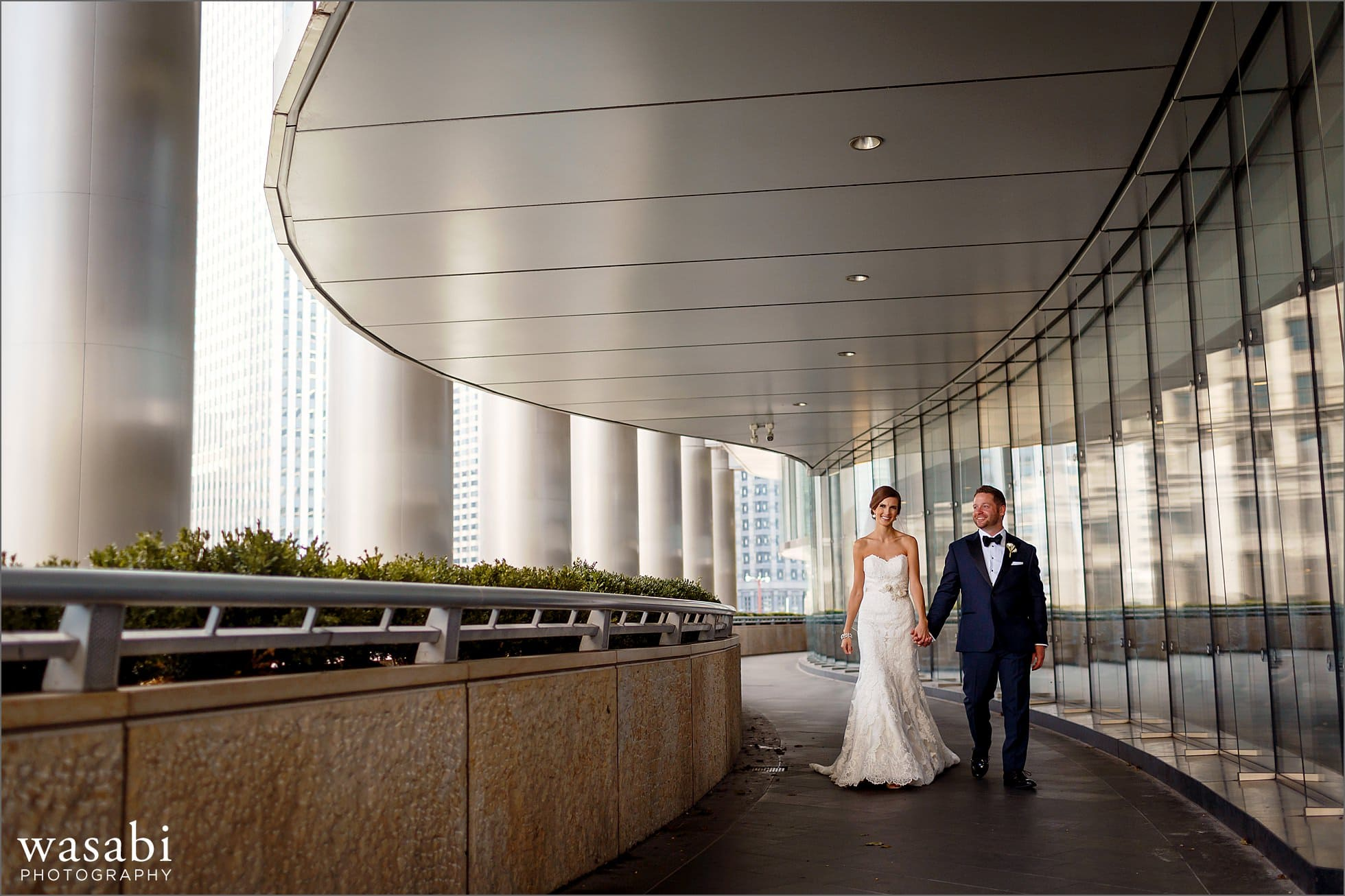 trump hotel wedding portraits