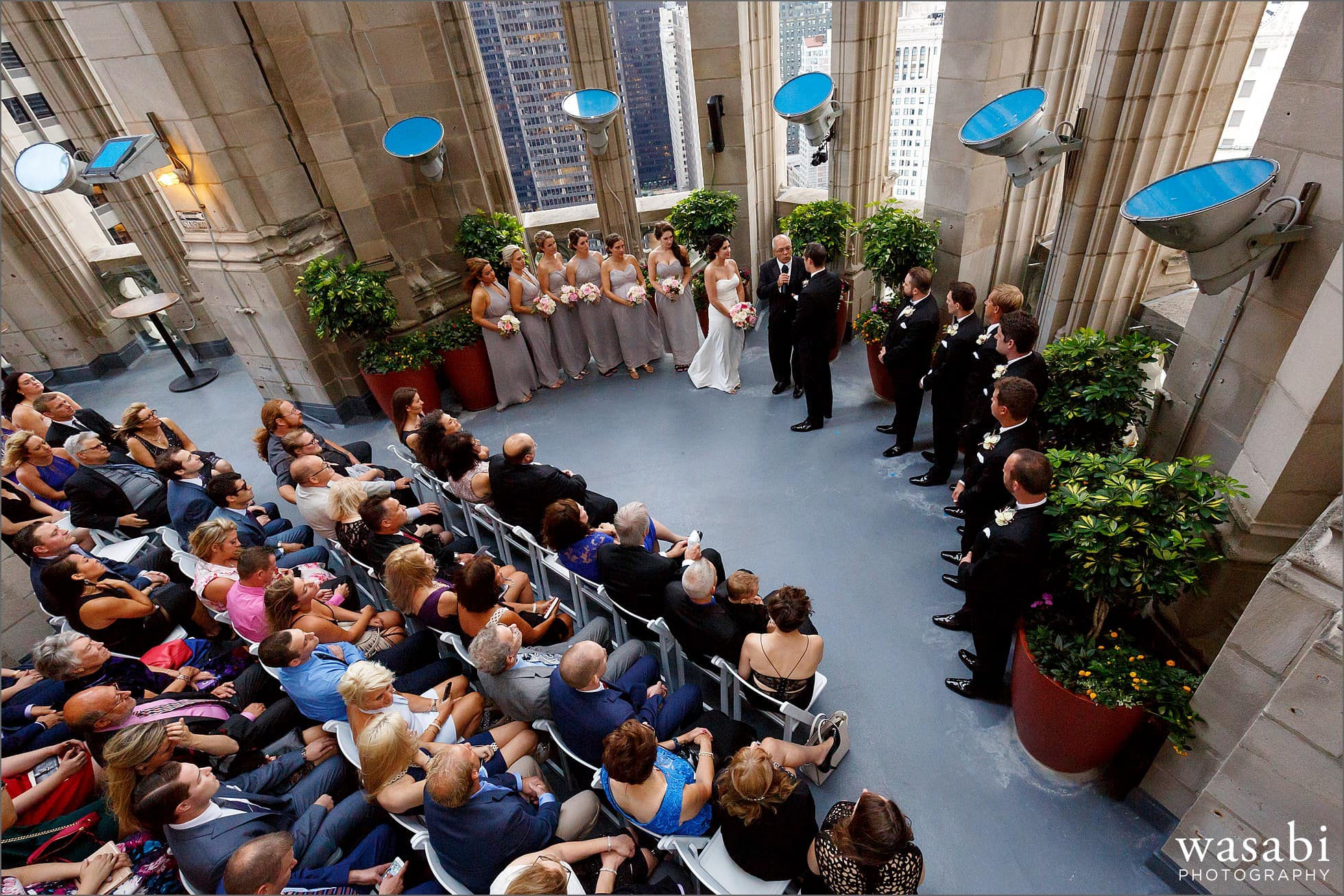 tribune tower crown chicago wedding photos