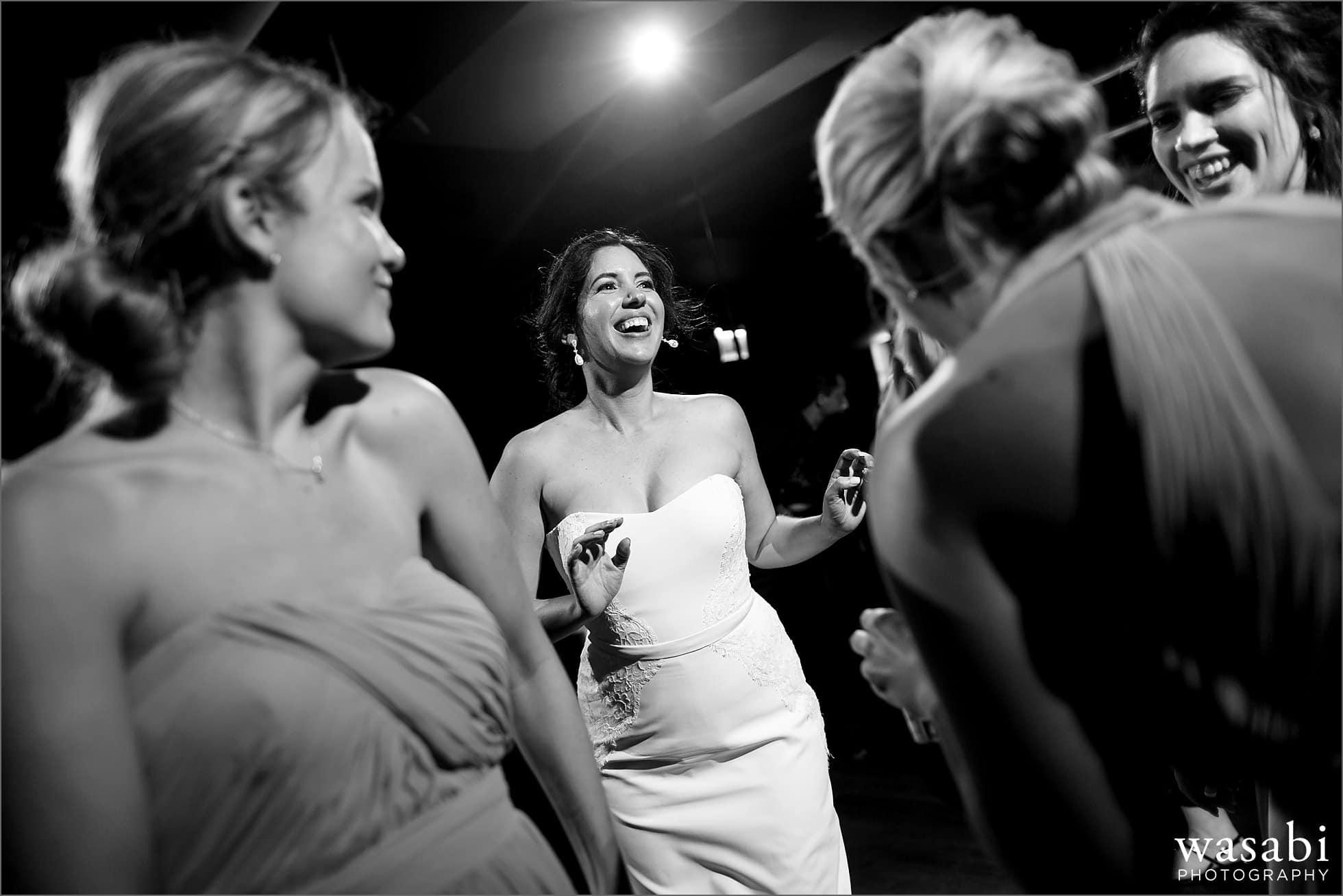tribune tower howells and hood dancing wedding reception