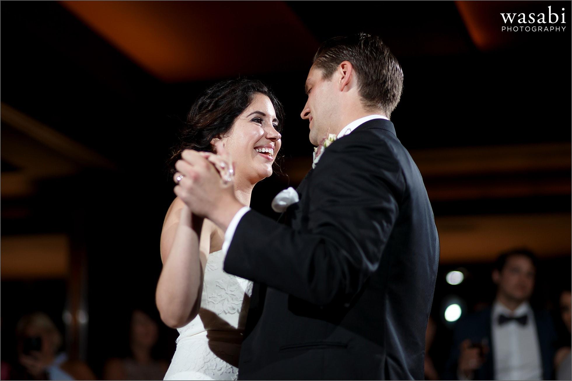 tribune tower howells and hood first dances wedding reception