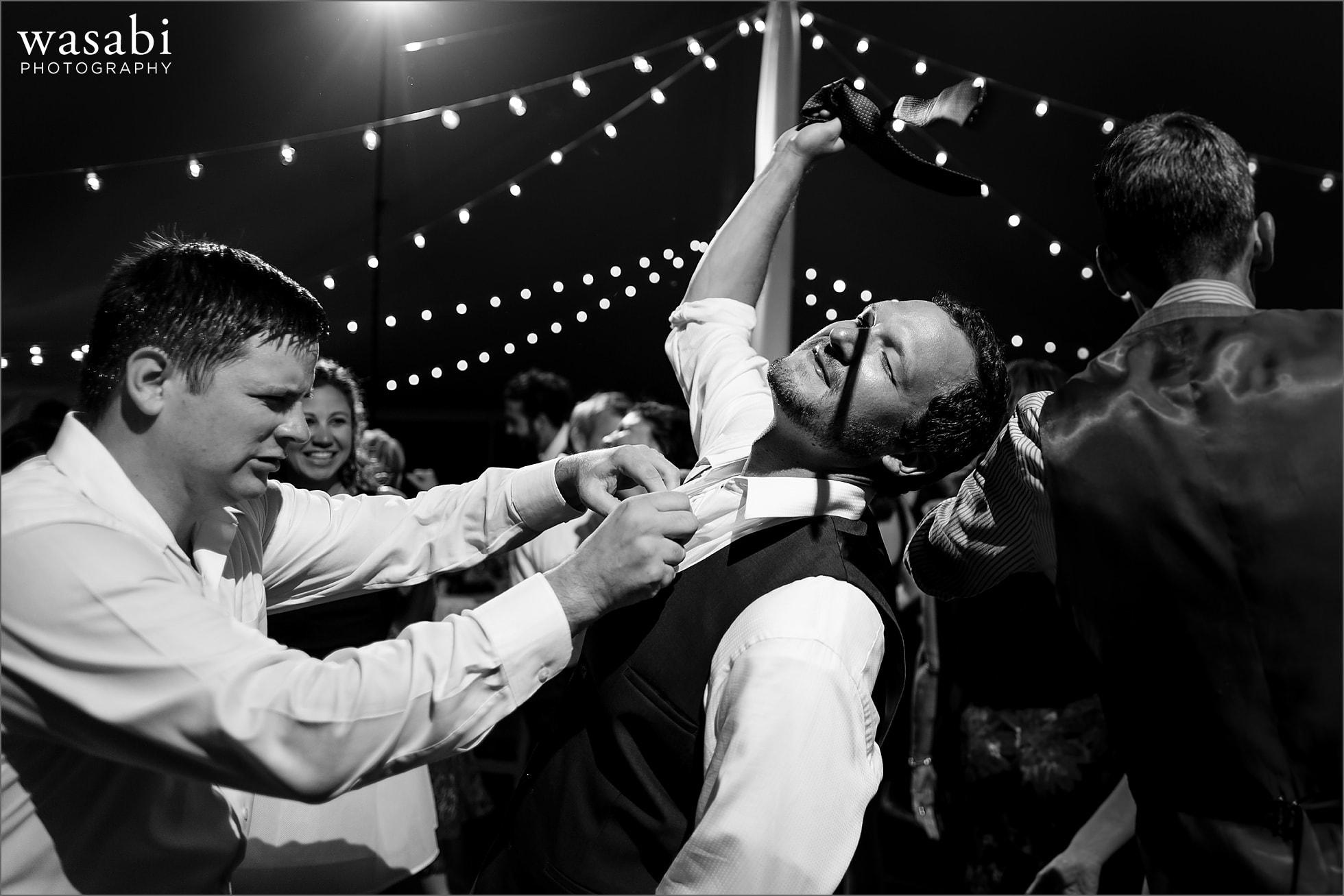 crazy wedding reception dancing photos