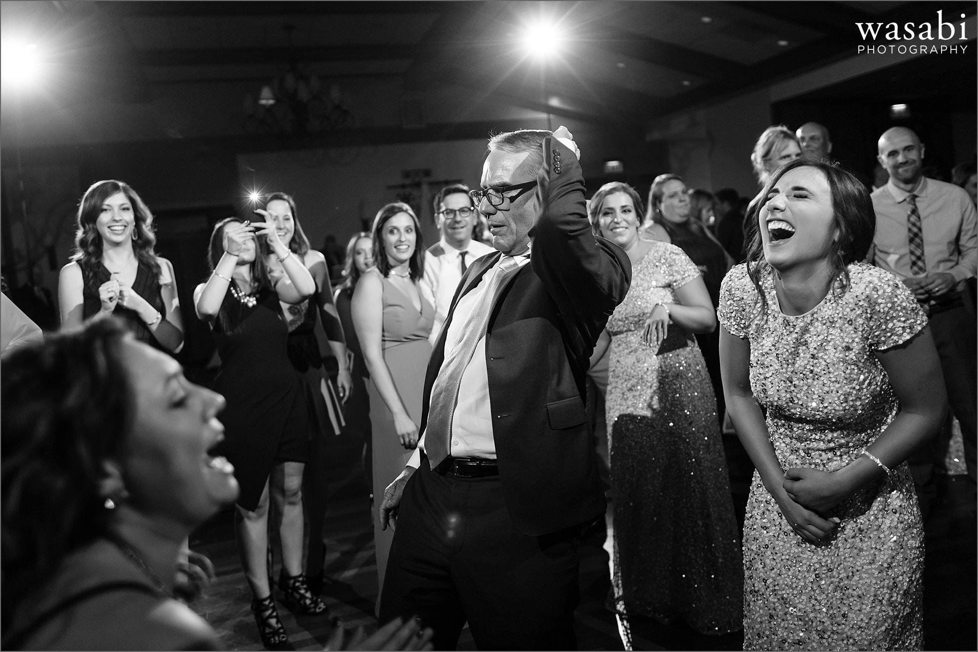 ivanhoe country club wedding reception photos