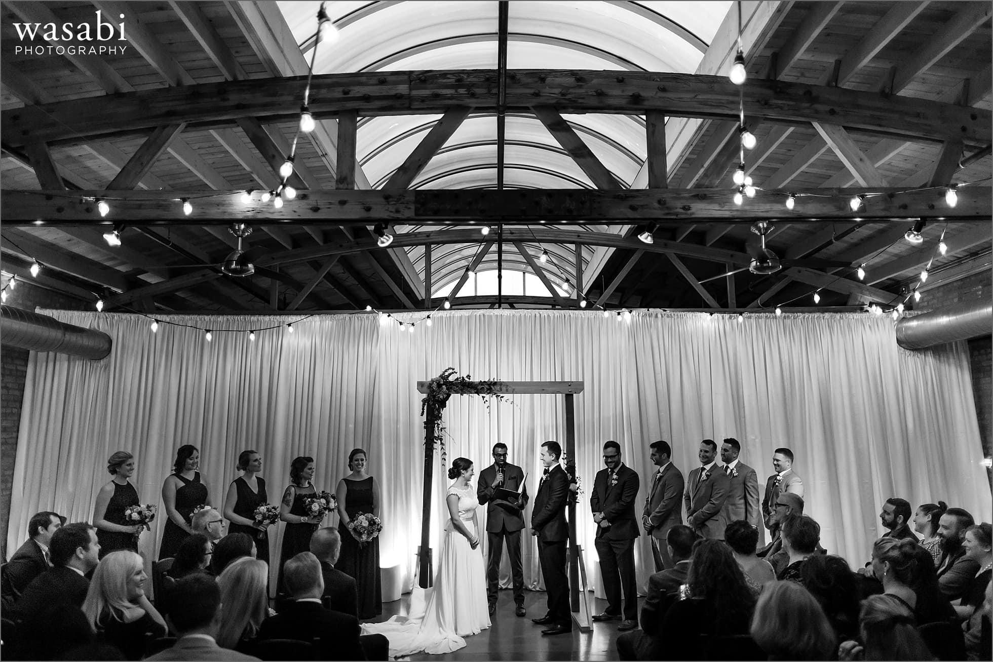 loft on lake chicago wedding photos