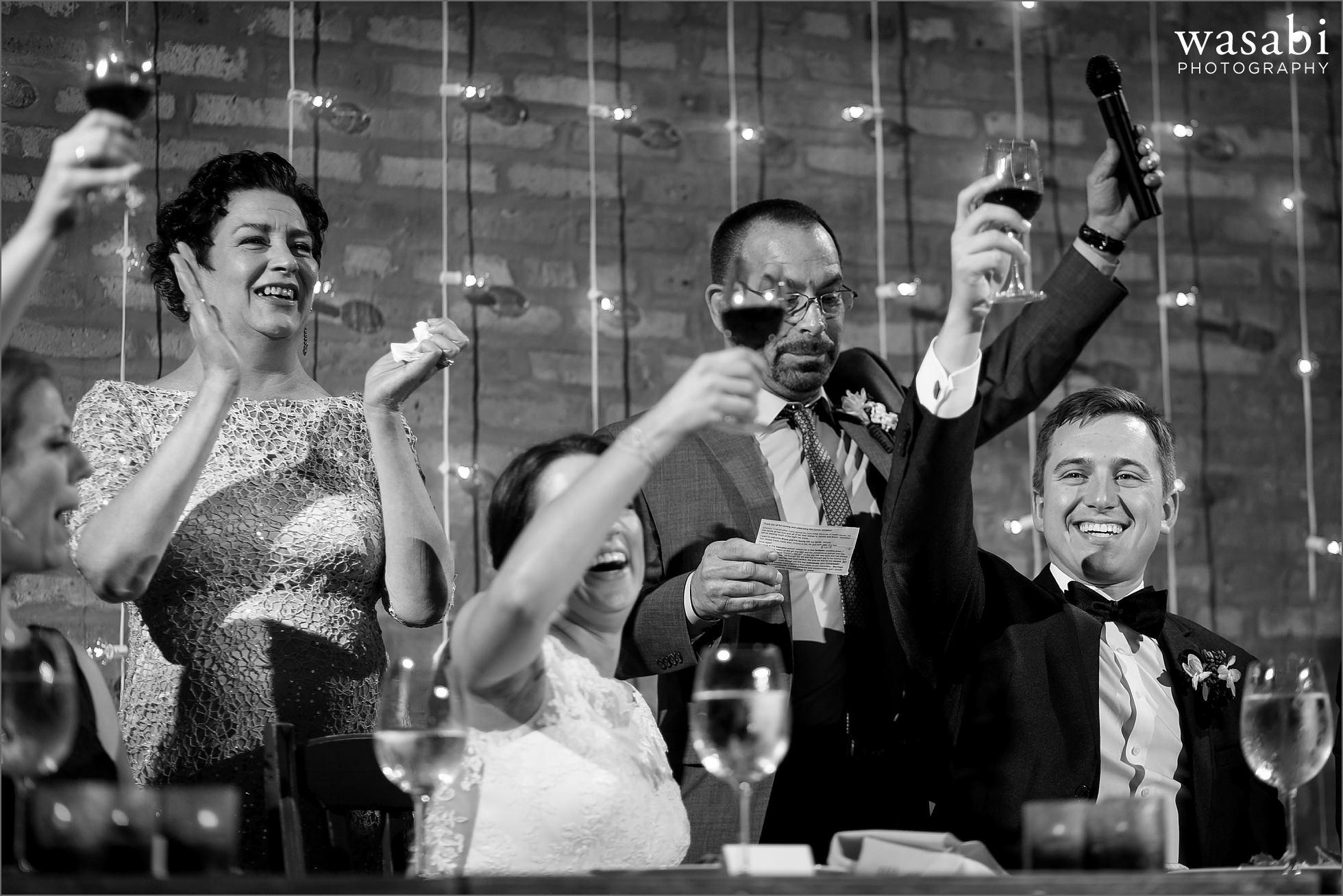 parent toast speech wedding photos