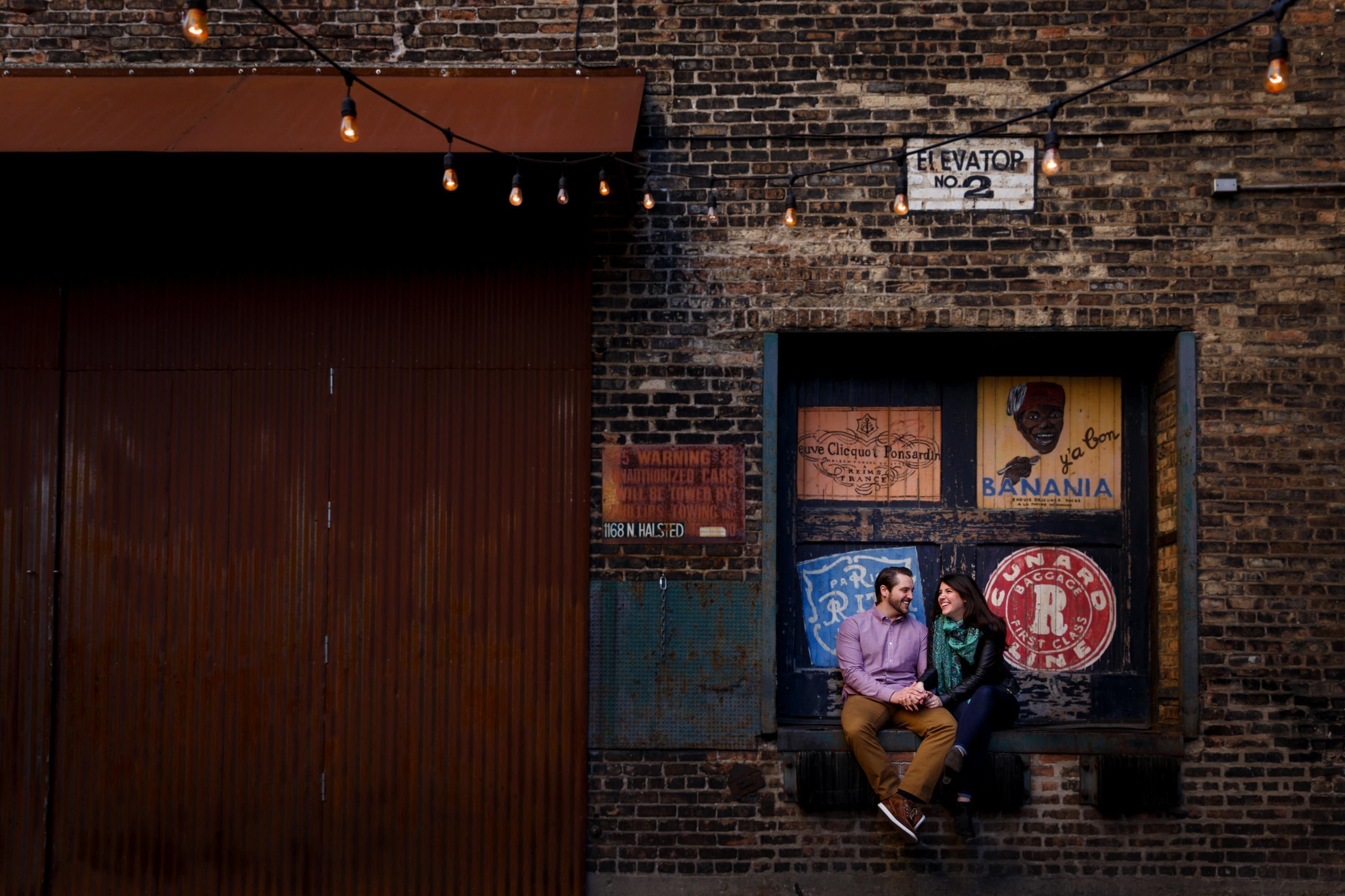 Jaclyn & Tom: West Loop Engagement Photos