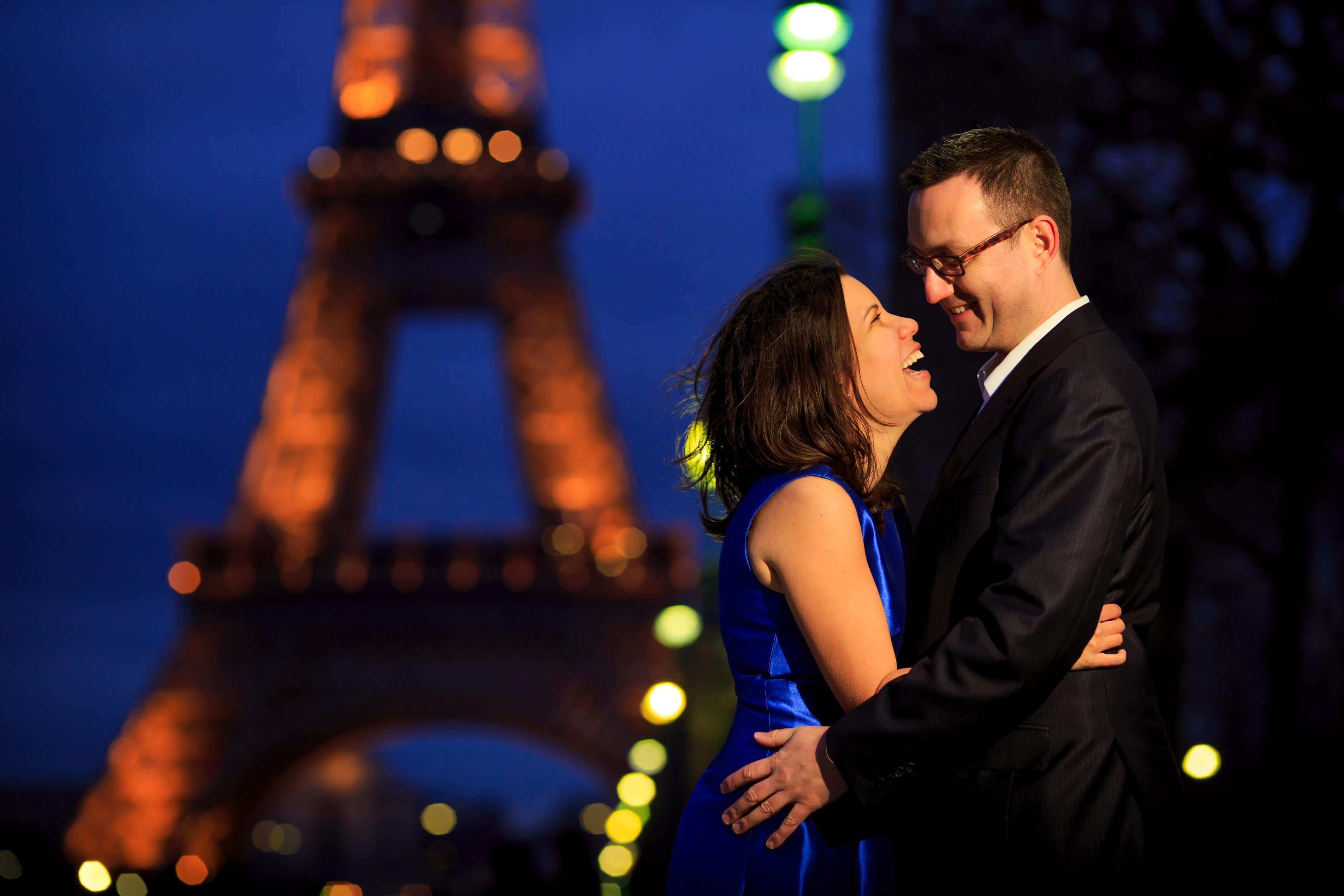 Megan & Manfred: Paris Engagement Photos
