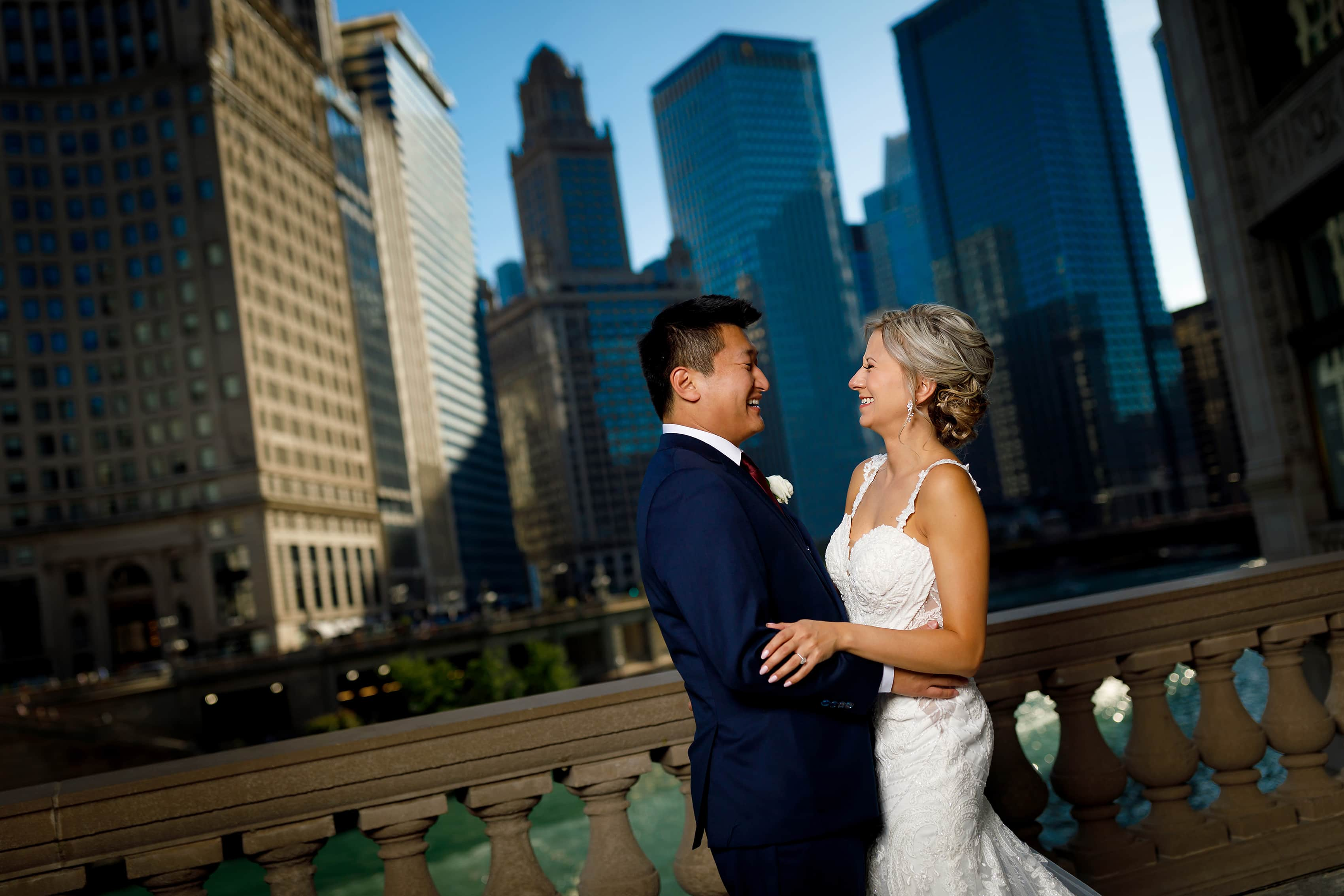 Chicago Hotel Rooftop Wedding: Alyse & Brandon