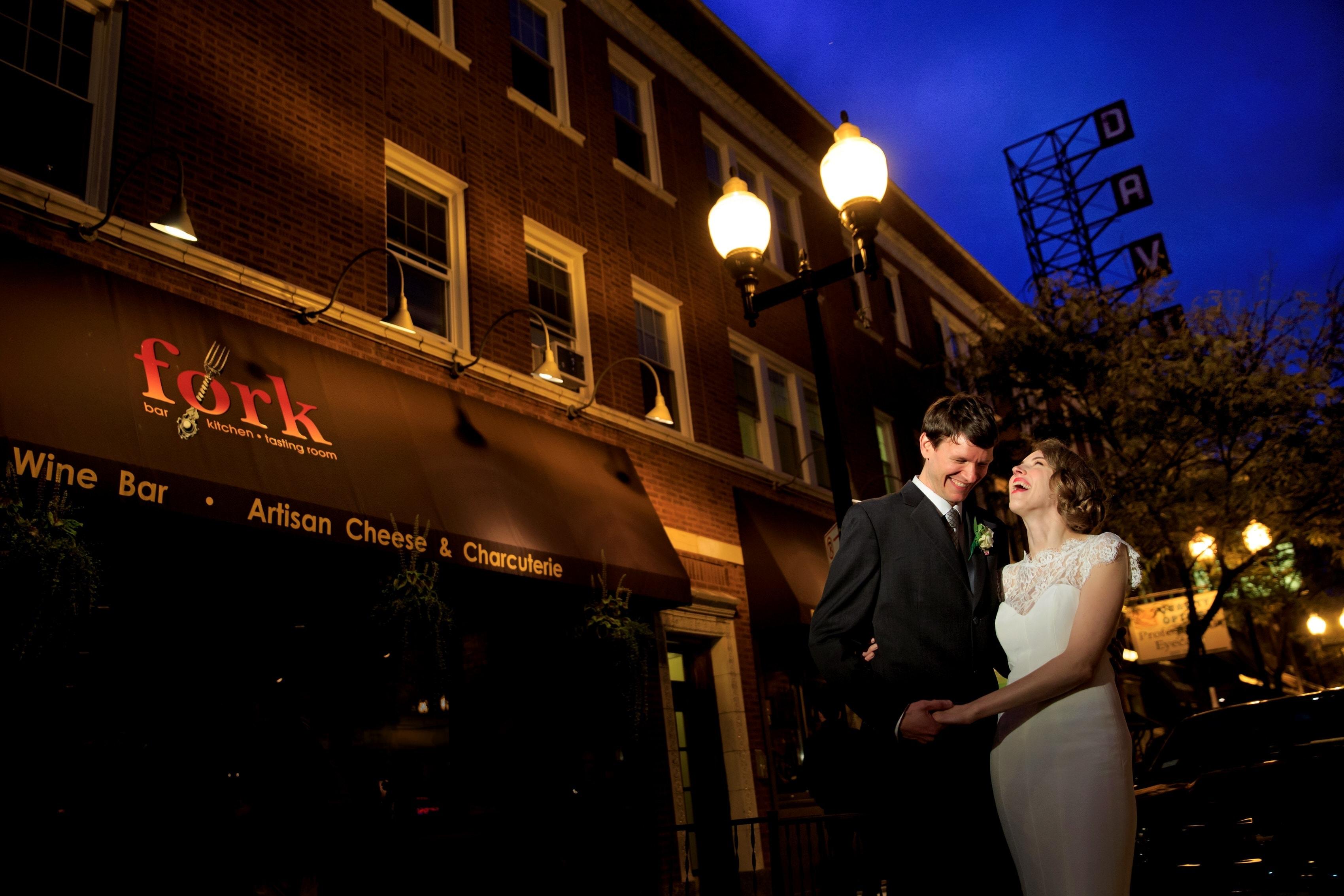 Heather & Rob: Fork Restaurant Wedding Photos