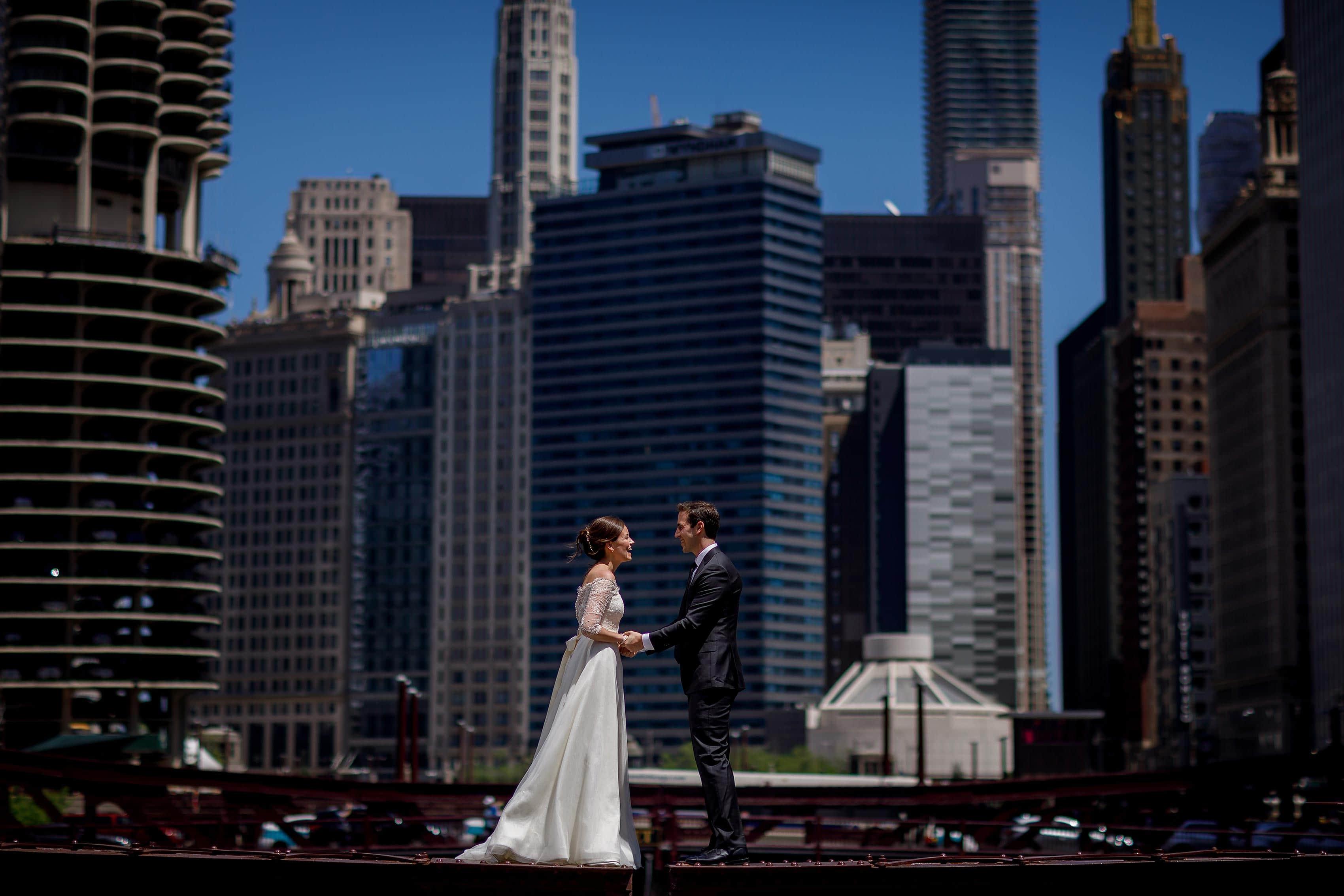 Zoe & Justin's City View Loft Wedding