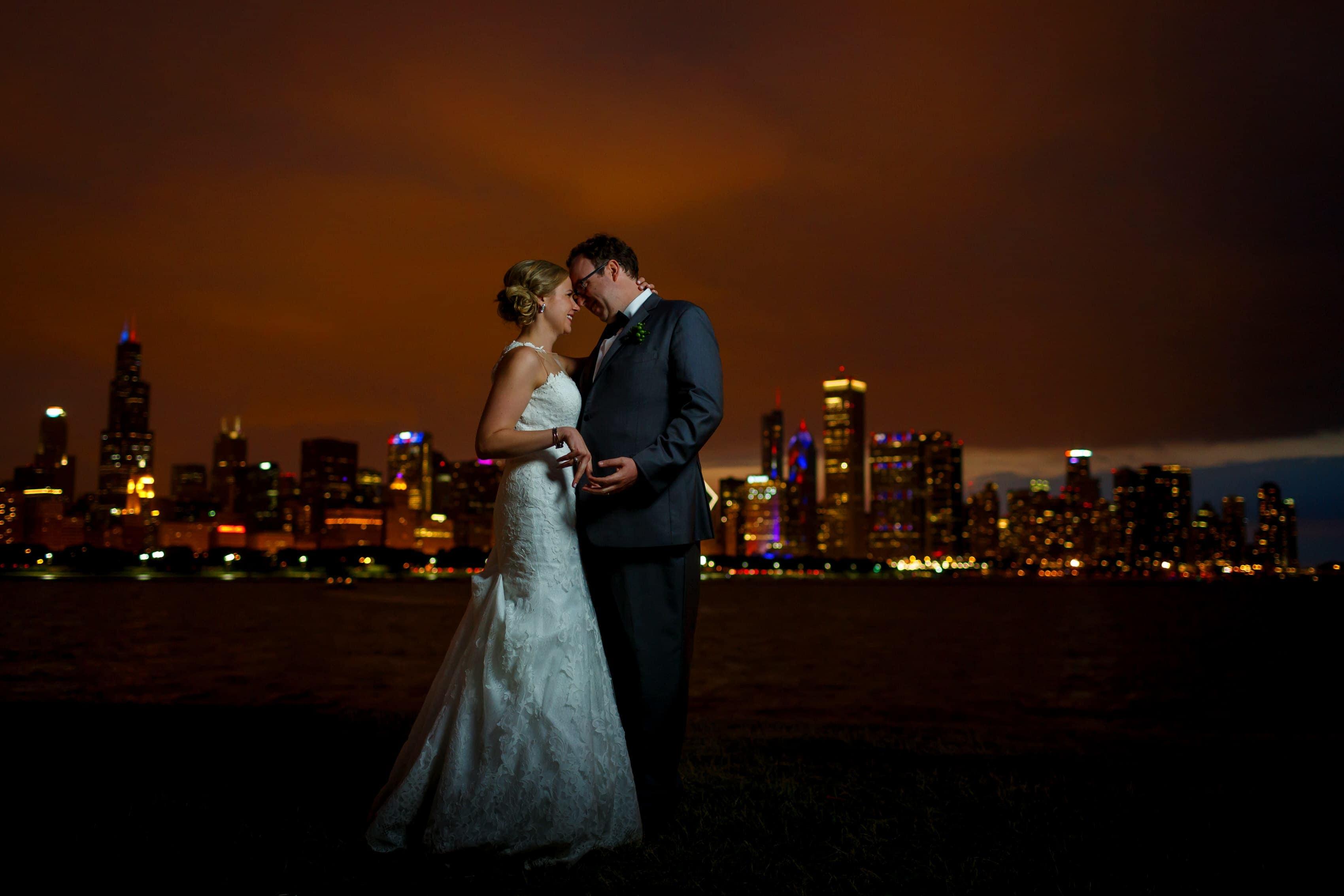 Emily & Kieran: Adler Planetarium Wedding Photos
