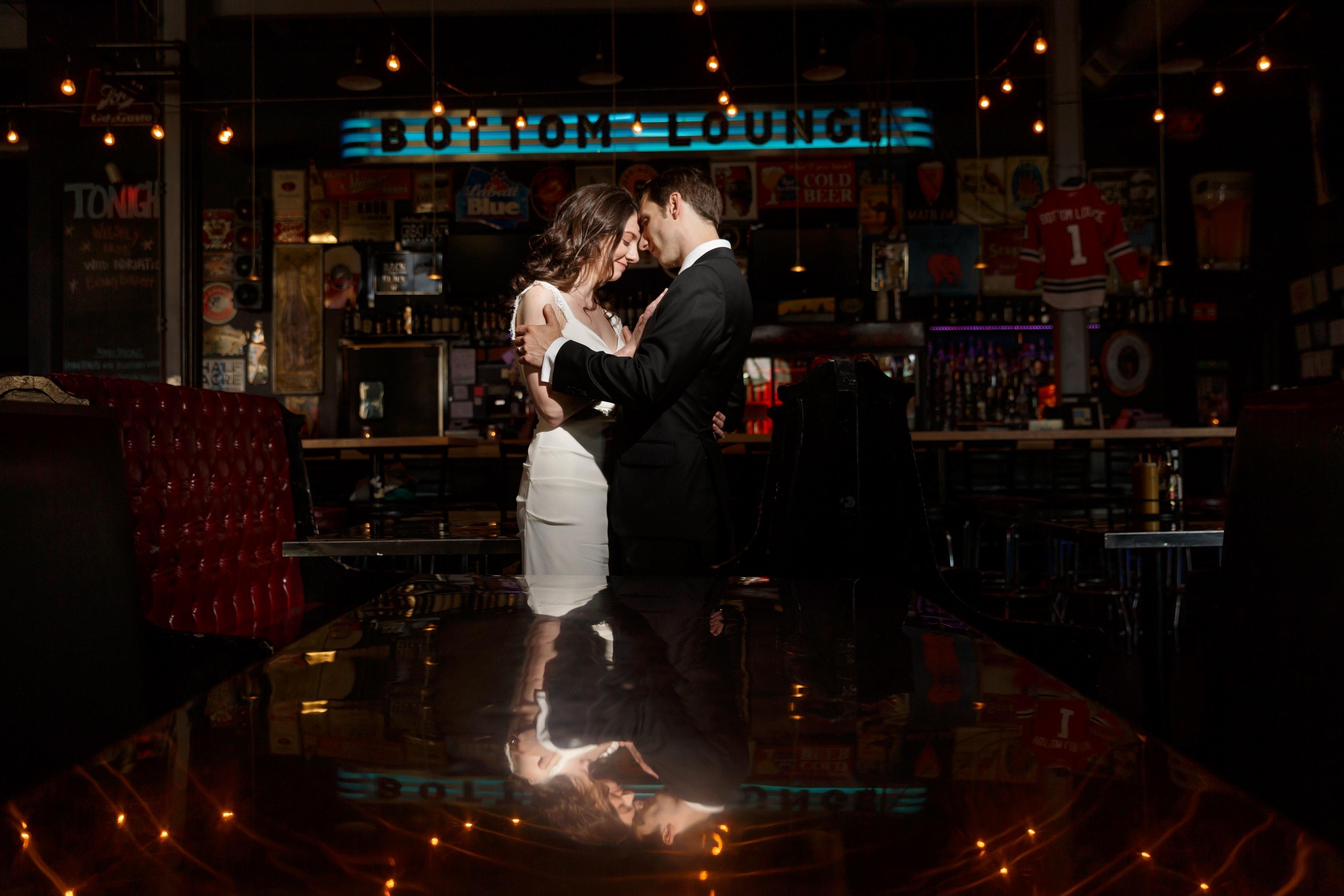Katie & Chris: Bottom Lounge Wedding Photos