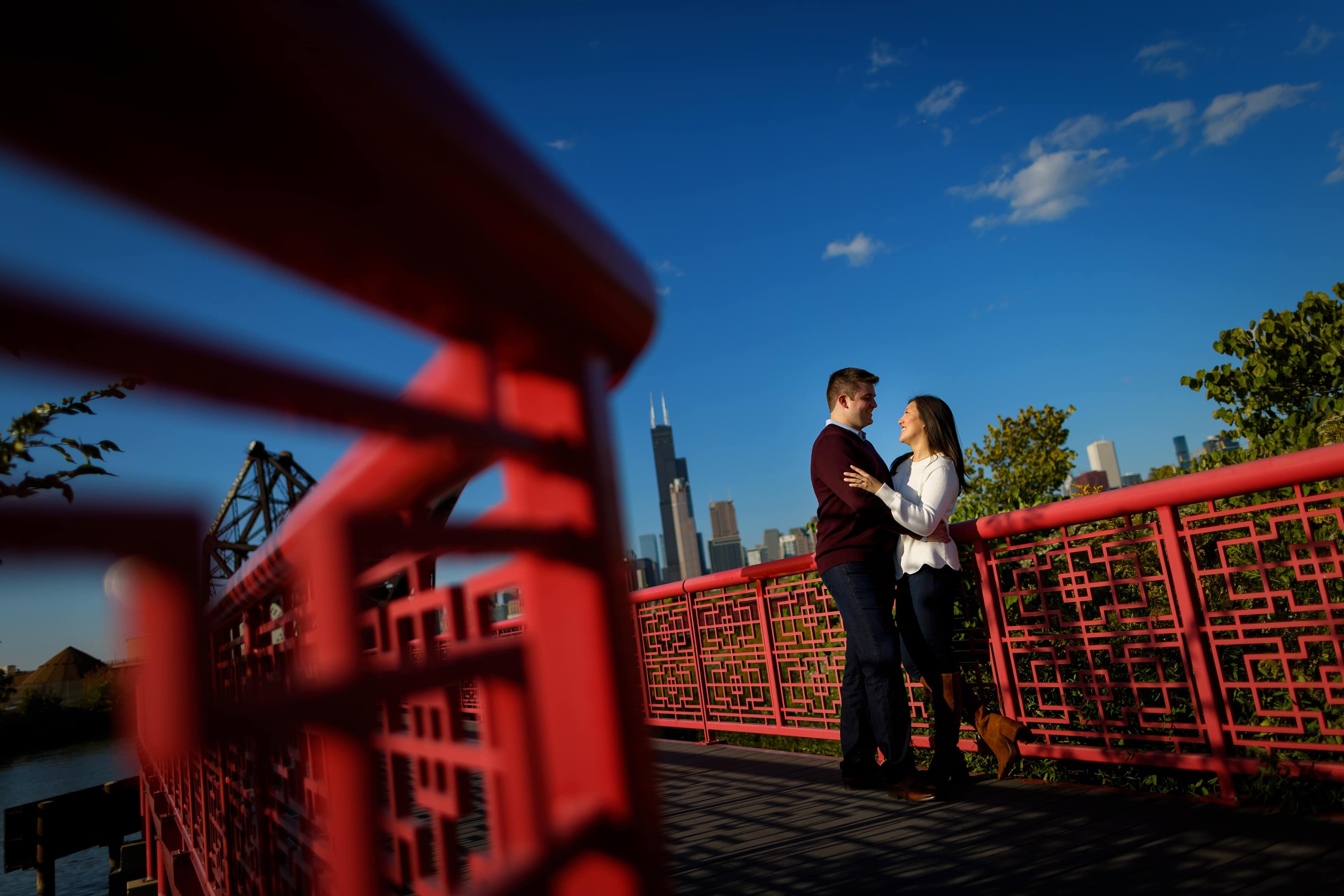 Colorful Chinatown Engagement Session: Jean & Jack