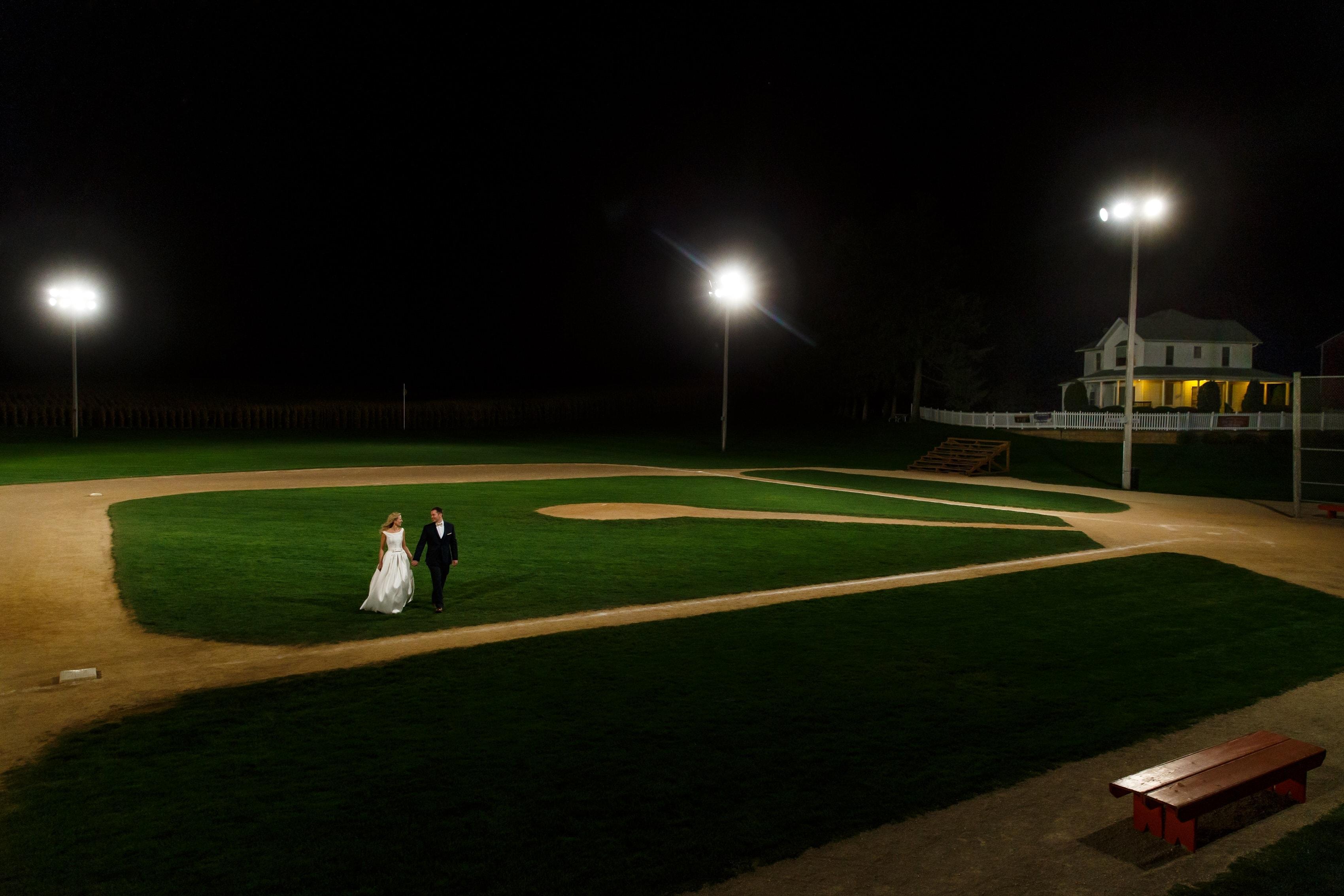 Shannon & David: Field of Dreams Wedding Photos