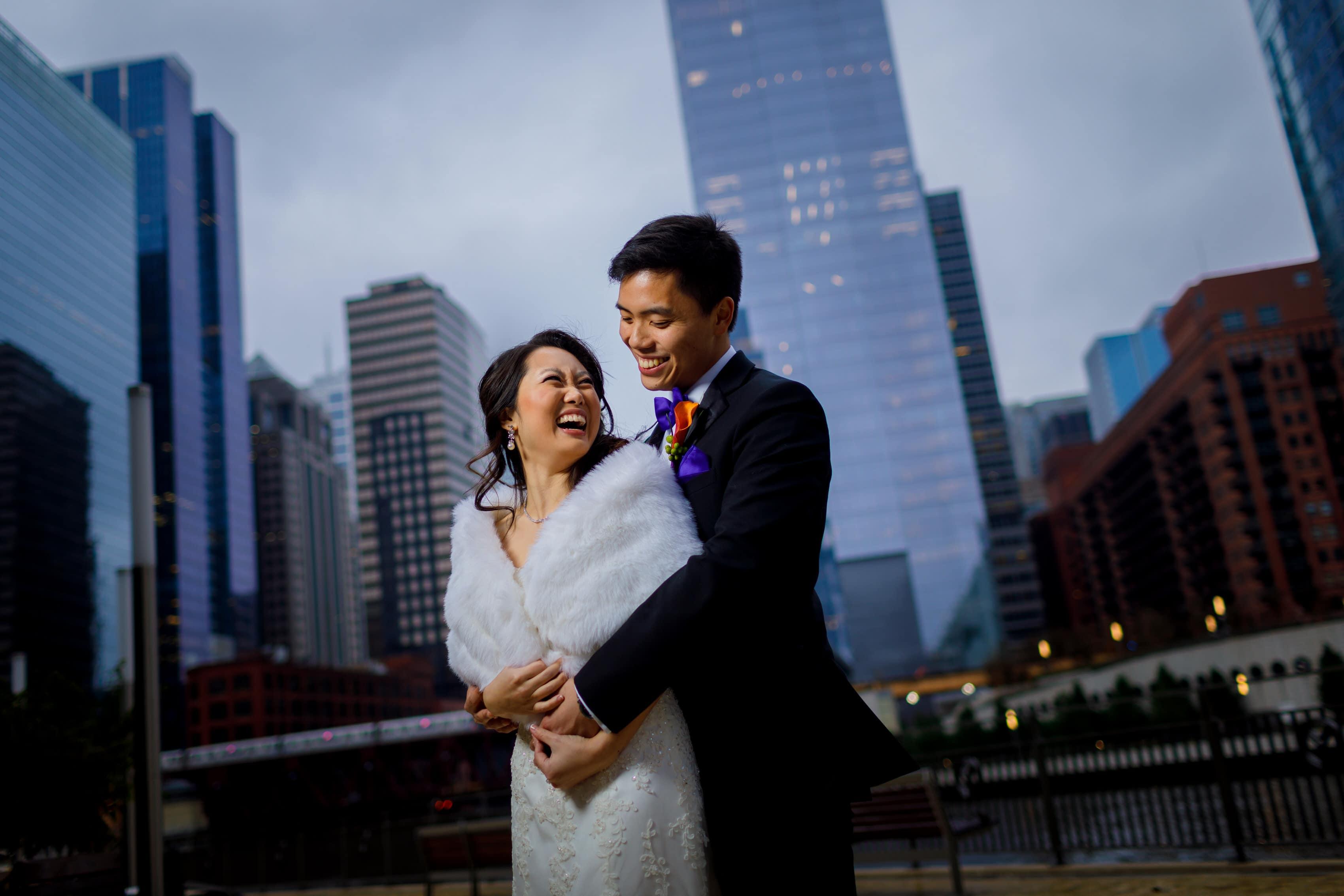Christie & Garrett's Montgomery Club Wedding in Chicago