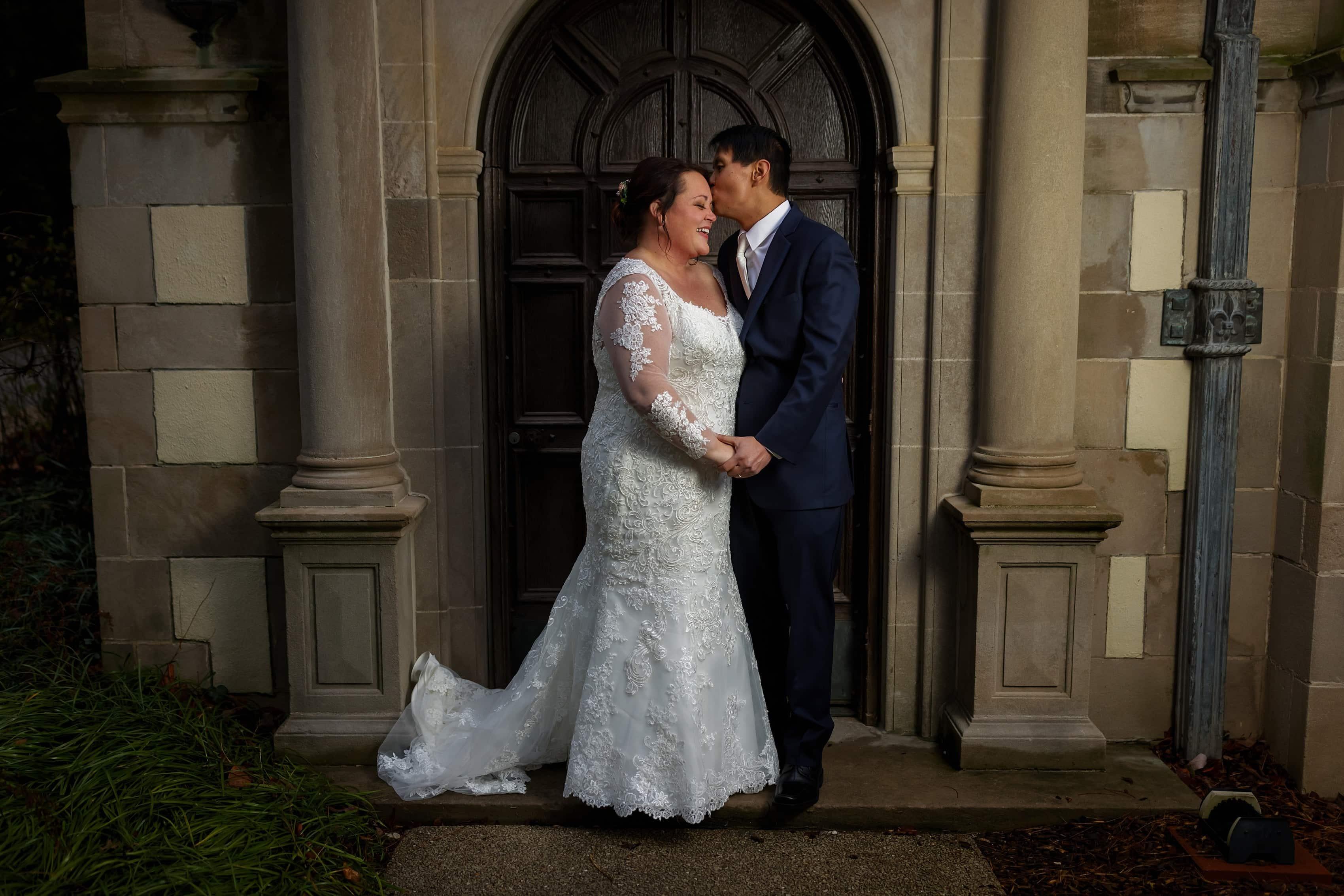 Morton Arboretum Wedding Photos: Megan & Alex