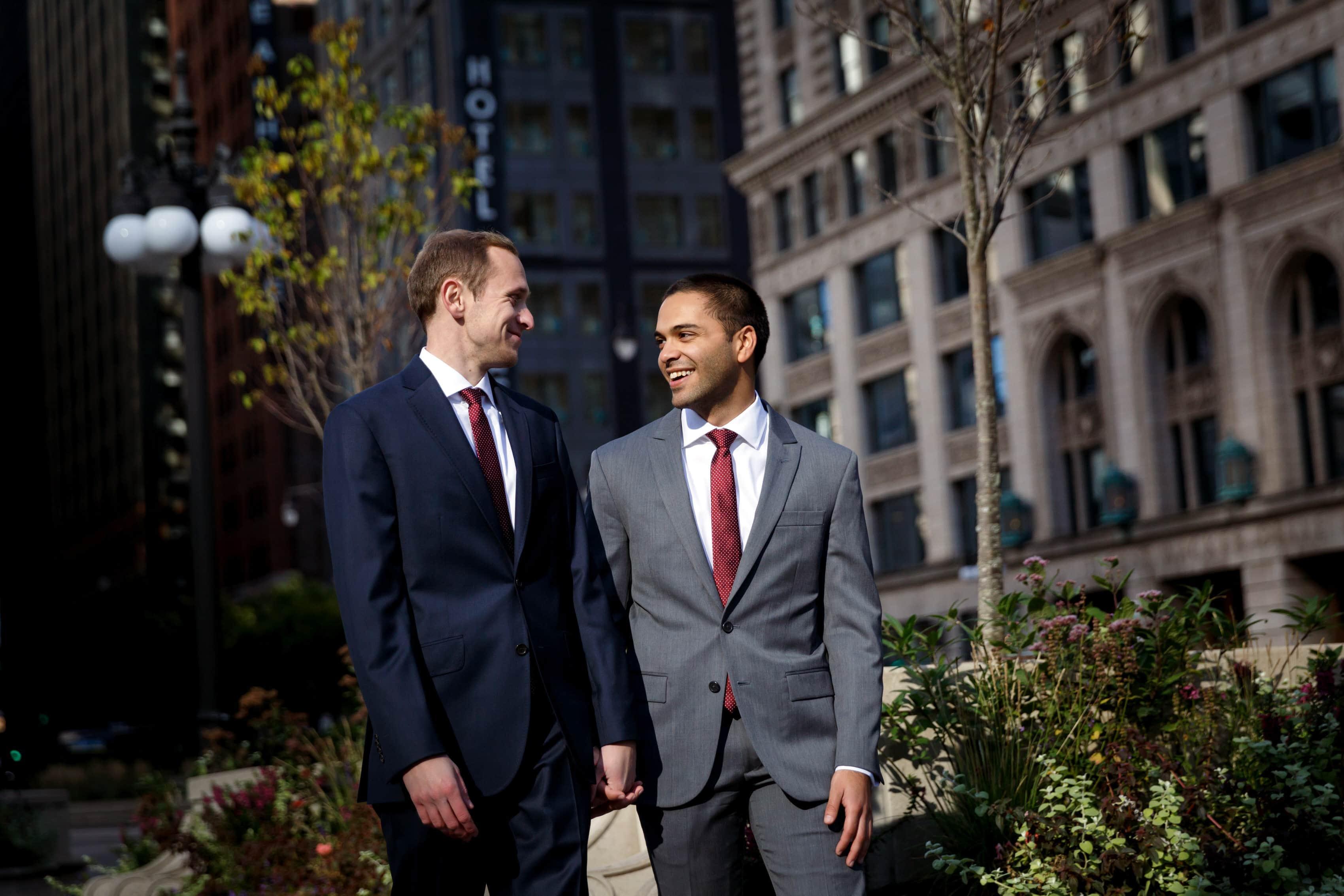 Greg & Ryan: Renaissance Chicago Hotel Wedding Photos