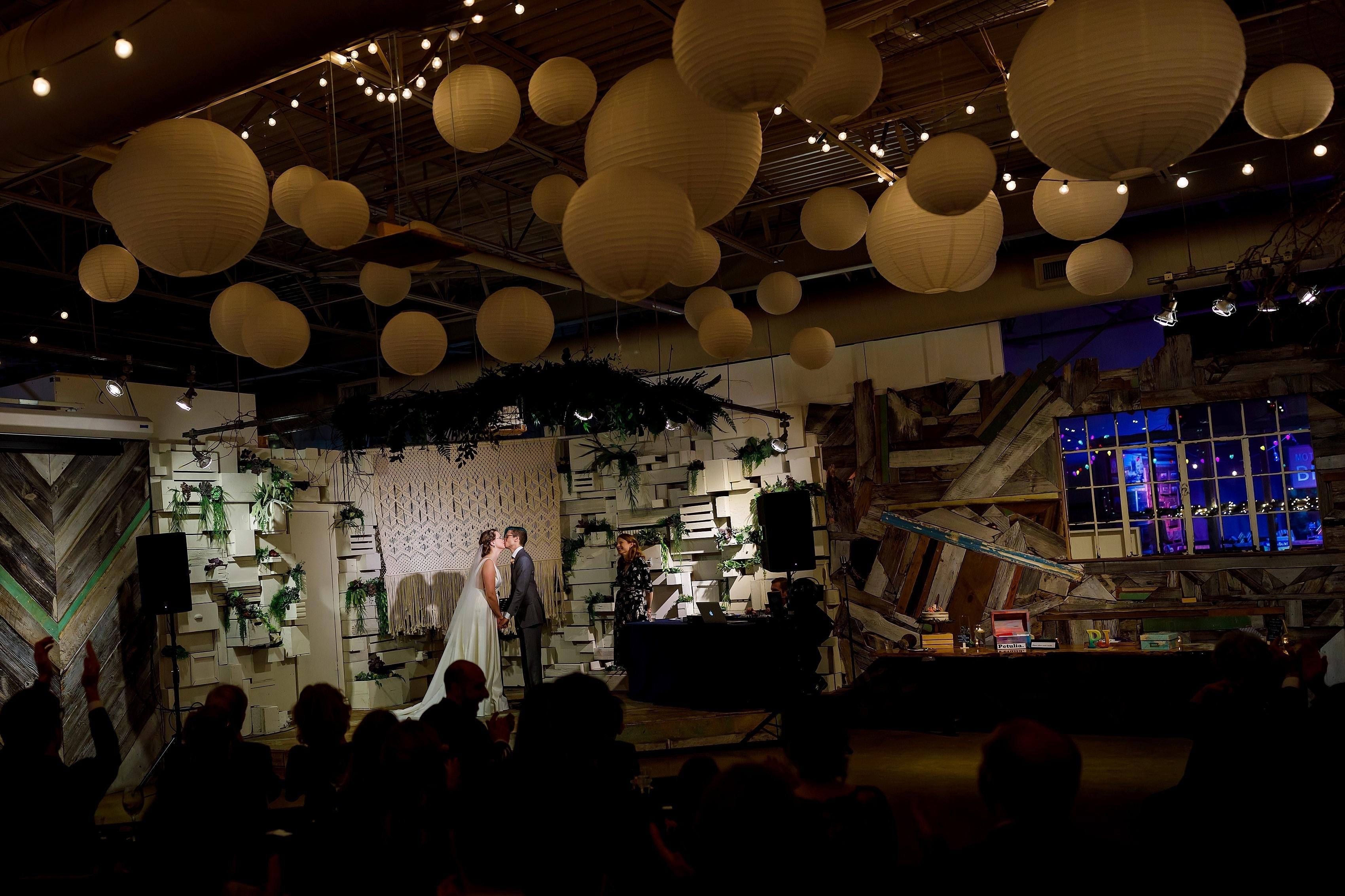 Julia & Peter's Rust Belt Market Wedding in downtown Ferndale