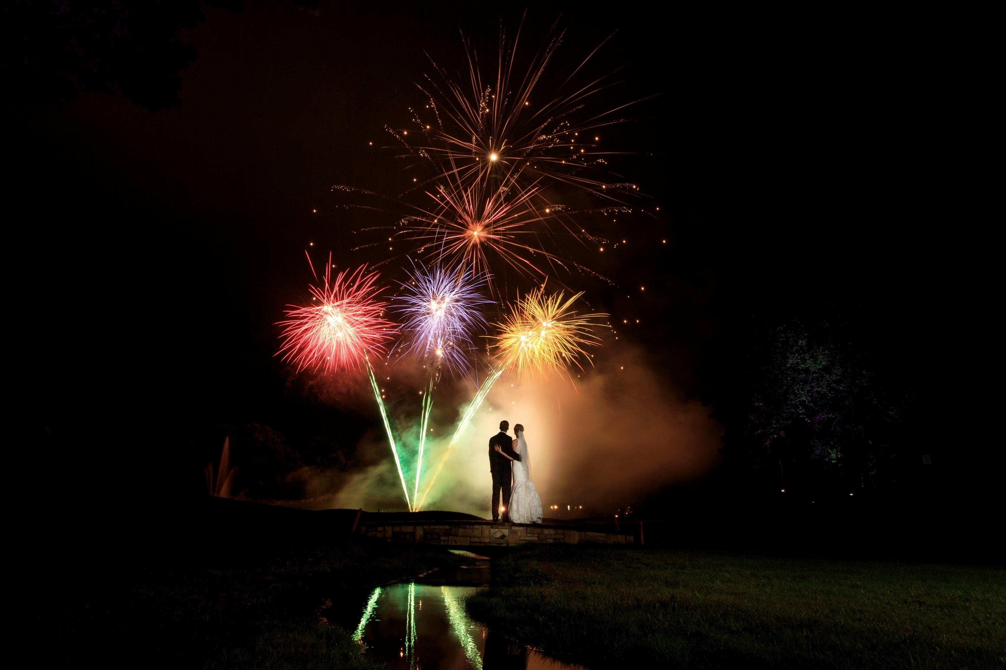 Nicole & Elliott: Trappers Turn Golf Club Wedding Photos
